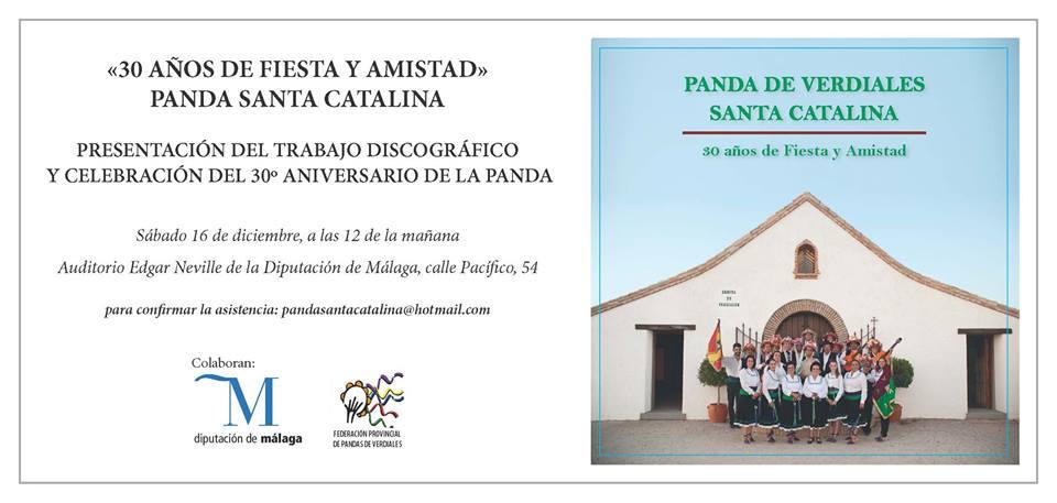 Presentación CD Panda Santa Catalina
